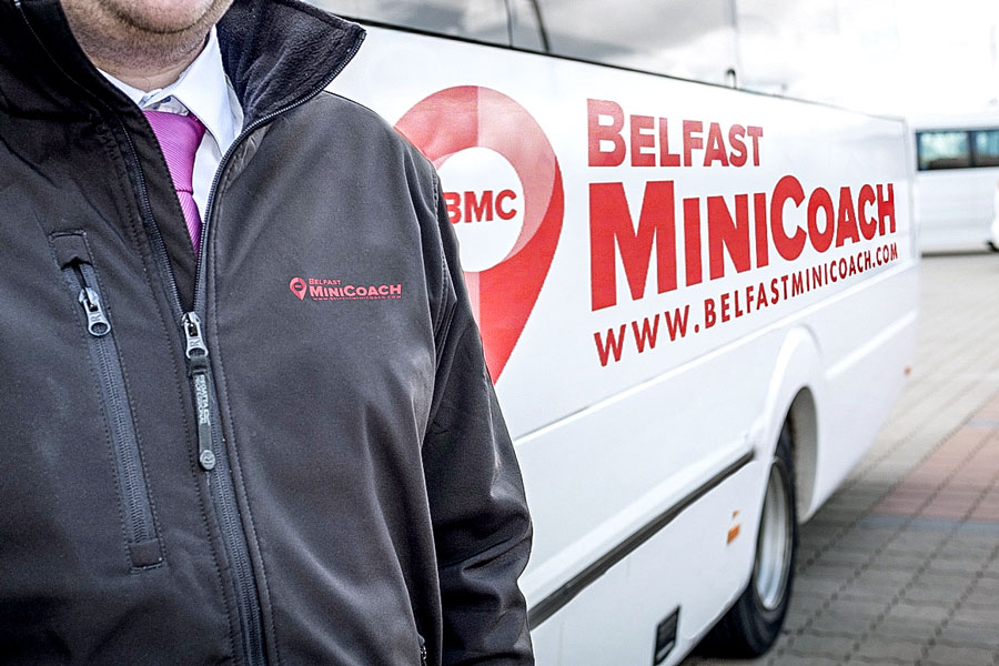 Belfast Mini Coach Luxury Coach Tour